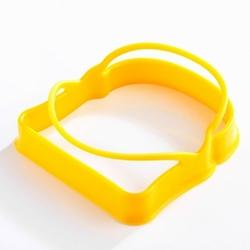 Mastrad - foremki silikonowe do jajek w kształcie tostów - zestaw 2 sztuki