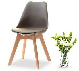 Krzesło do jadalni gustaf brązowebuk