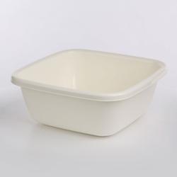 Miska  miednica kwadratowa plastikowa tontarelli 14 l biała