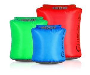 Zestaw wodoszczelnych worków lifeventure ultralight dry bag
