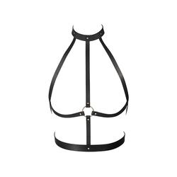 Sexshop - maze h harness czarny - uprząż bijoux indiscrets - online
