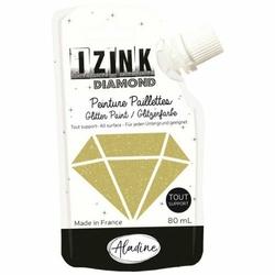 Farba brokatowa Izink 80 ml - złoty - złoty