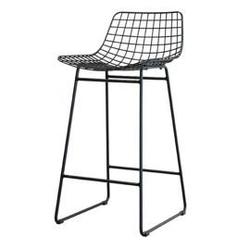 Hkliving :: stołek barowy wire czarny