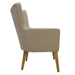 Fotel do salonu gabriel z podłokietnikiem
