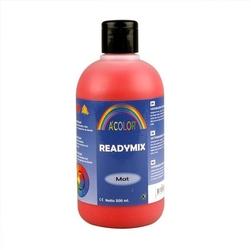 Farba akrylowa matowa 500 ml - czerwony - CZE