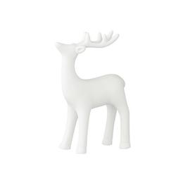 Renifer ceramiczny biały bloomingville