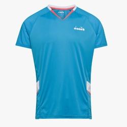 Koszulka męska diadora t-shirt - niebieski