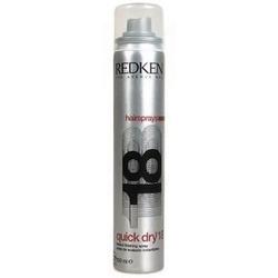 Redken quick dry 18 hairprays kosmetyki damskie - lakier do włosów 400ml