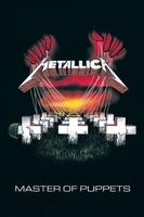 Metallica master of puppets - plakat