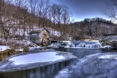 Fototapeta na ścianę młyn w górach fp 2095