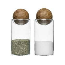 Sagaform - nature - buteleczki na przyprawy, 2 szt.
