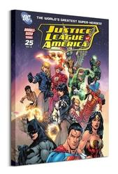Dc justice league group cover - obraz na płótnie