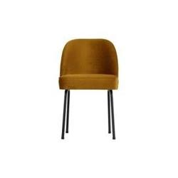 Be pure :: krzesło tapicerowane vogue musztardowe