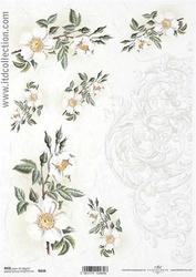 Papier ryżowy itd a4 r834 kwiaty