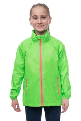 Kurtka dziecięca przeciwdeszczowa Mac in a Sac mini neon - neon zielony, rozmiar 2-4 lata
