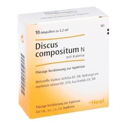 Discus compositum n z kalmią ampułki