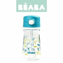 Butelka-bidon tritanowa ze słomką 350 ml Dark blue, Beaba