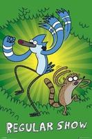 Zwyczajny serial  Regular Show Green - plakat