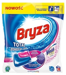 Bryza vanish ultra gel caps, kapsułki do prania kolorowych i białych tkanin, 28 sztuk