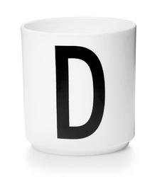 Kubek porcelanowy AJ litera D