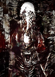 Legends of Bedlam - Xenomorph, AvP - plakat Wymiar do wyboru: 42x59,4 cm