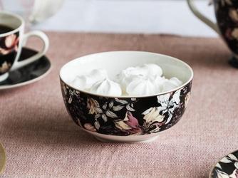 Salaterka  miseczka porcelanowa altom design black lily 13,5 cm