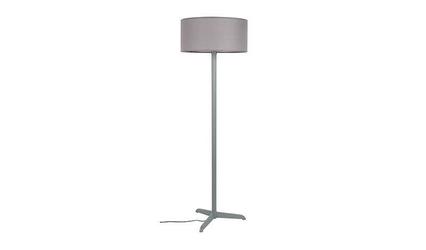 Zuiver :: lampa podłogowa metalowa shelby szara