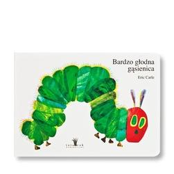 Książka bardzo głodna gąsienica