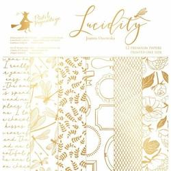 Papier scrapbookingowy Lucidity 30,5x30,5 cm - zestaw