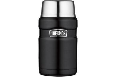 Termos obiadowy thermos king 710ml - czarny