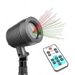 Projektor laserowy star ogrodowy świąteczny shower