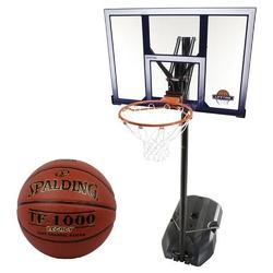 Zestaw kosz do koszykówki lifetime boston 90001 + piłka spalding tf-1000 legacy