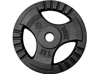 Obciążenie żeliwne kierownica 5 kg otwór 30,5 mm