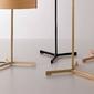 Lzf :: lampa stołowa thesis led brązowa wys. 43 cm