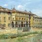 florencja -  william chase ; obraz - reprodukcja