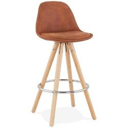 Kokoon design - stołek barowy agouti mini 65, brązowy - brązowy