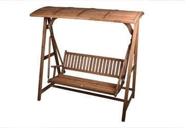 Huśtawka drewniana - 150 cm