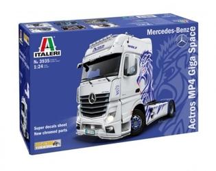 Italeri model plastikowy mercedes benz actros mp4 show truck