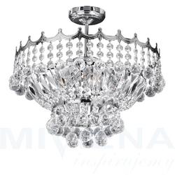 Versailles lampa wisząca 5 chrom kryształ