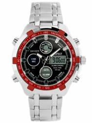 Męski zegarek PERFECT CARRERA zp121f - blackred