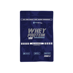 FitWhey Whey Protein 100 Concentrate 2000 - Chocolate