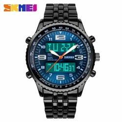 Zegarek męski bransoleta SKMEI 1032 blue - BLUE