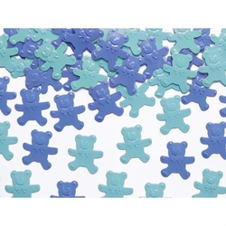 Konfetti MISIE niebieskie - 15 g - NIE