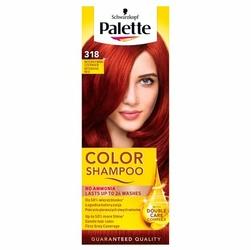 Palette Color Shampoo, koloryzujący szampon, 318 rubinowa czerwień
