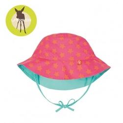 Lassig kapelusz dwustronny peach stars uv 50+