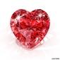 Tapeta ścienna diament w kształcie serca