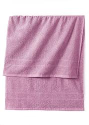 Ręczniki z ciężkiego materiału bonprix dymny lila