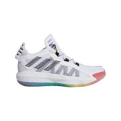 Buty do koszykówki adidas dame 6 pride white rainbow lgbtq - fx4796