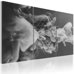 Obraz - dym i symetria