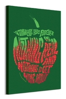 Lennon i mccartney strawberry fields forever - obraz na płótnie